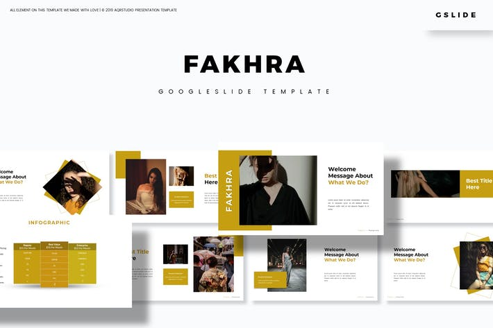 Cover Image For Fakhra - Google Slide Template