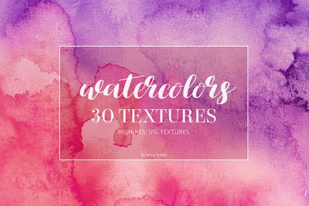 Colorful Watercolor texture backgrounds