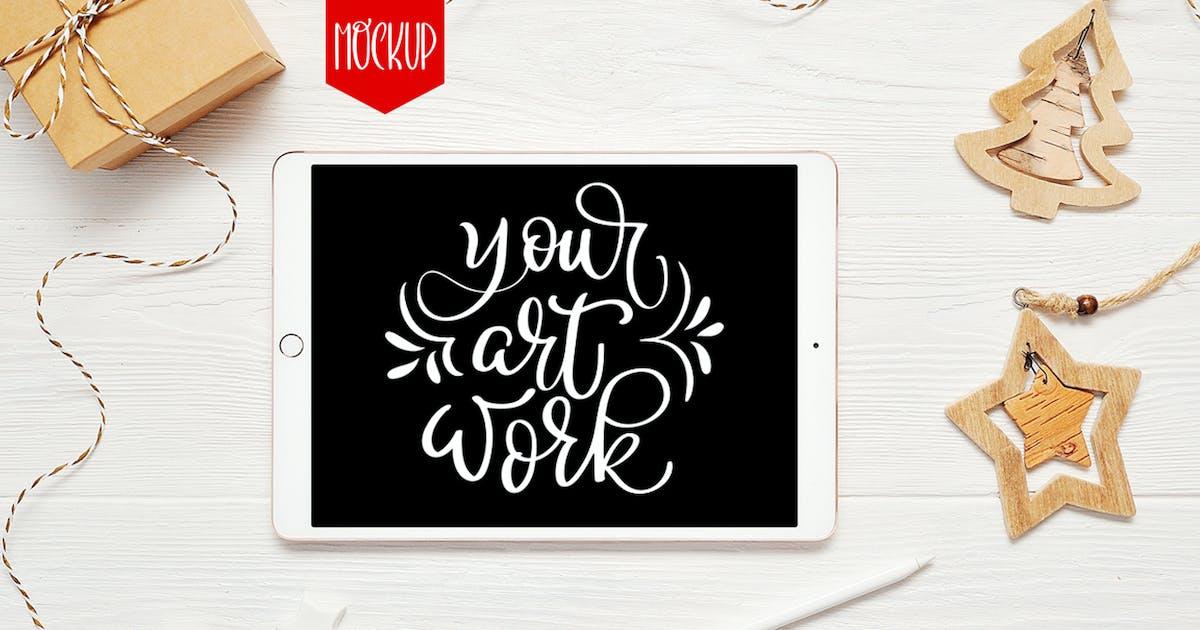 Download Christmas ipad mock up by timonko