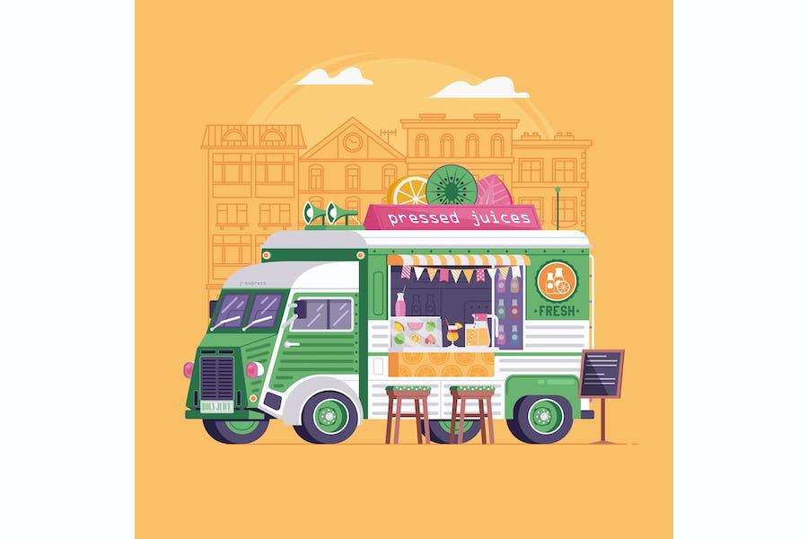 Fresh Juice Street Food Van