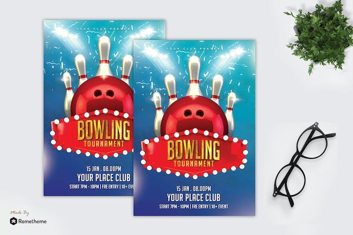Thumbnail for Bowling Tournament - Sport Flyer MR