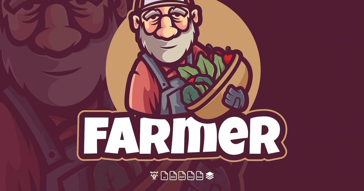 Download FARMER LOGO MASCOT CHARACTER by Holismjd