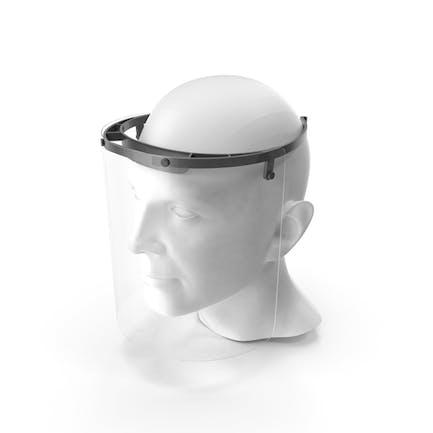 Escudo facial médico