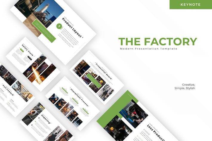 Thumbnail for The Factory - Keynote Template