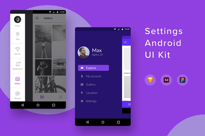 Thumbnail for Настройки Android UI Kit