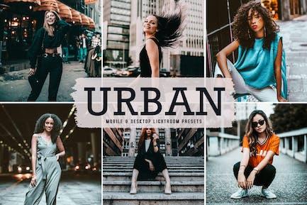 Urban Mobile & Desktop Lightroom Presets