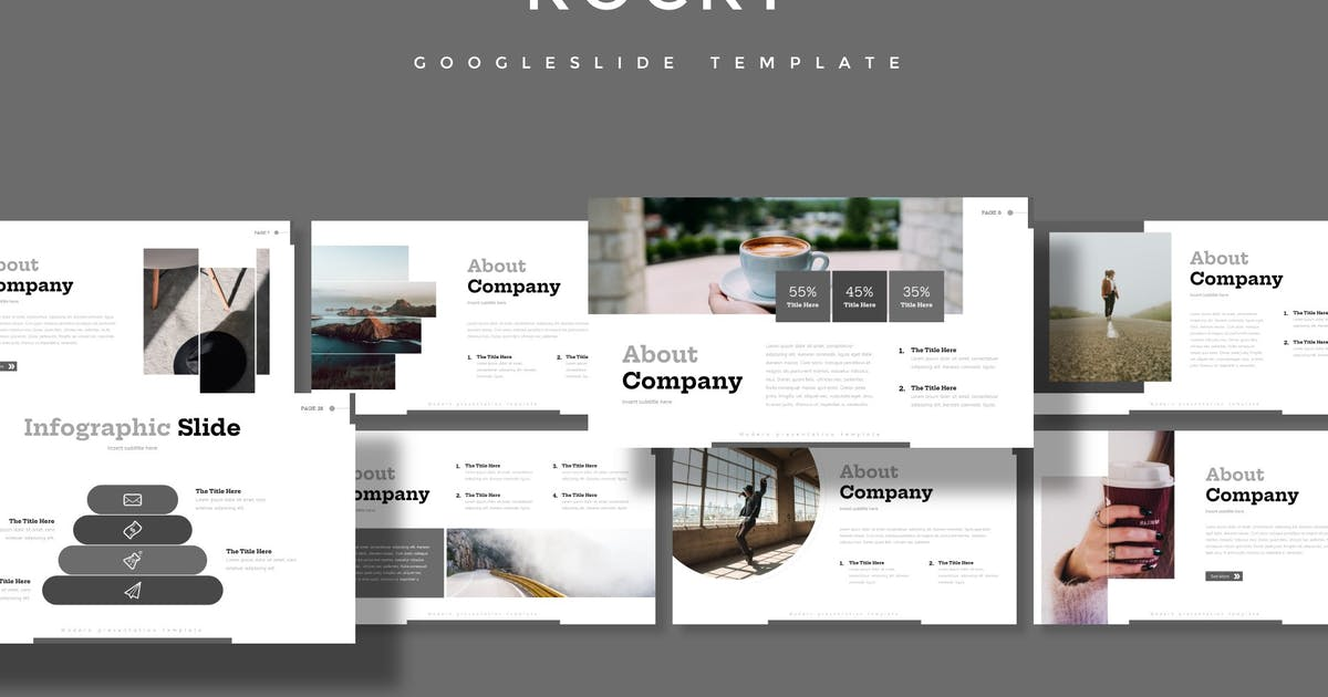 Download Rocky - Google Slide Template by aqrstudio