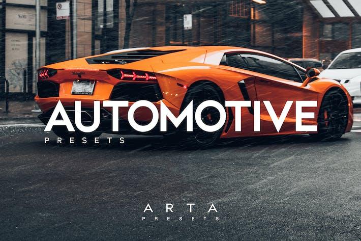 Thumbnail for Predefinições automotivas ARTA para celular e desktop