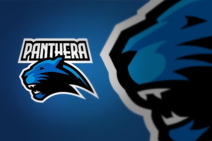 Thumbnail for Panther E Sport Logo Illustration