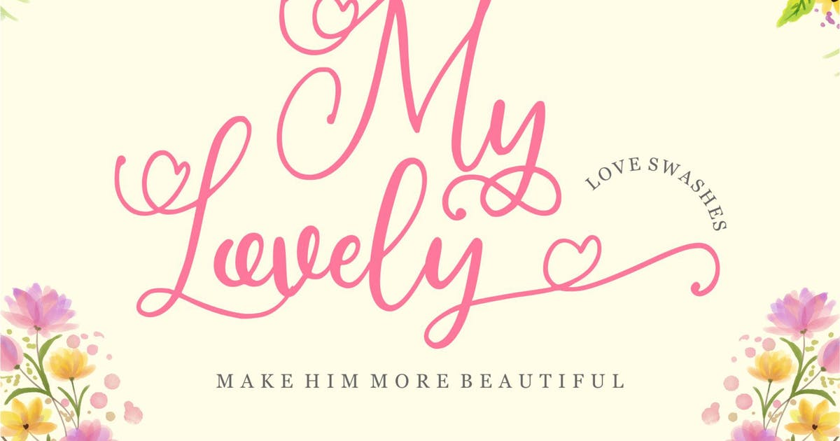 Download My Lovely Calligraphy by garisman