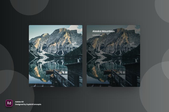 Thumbnail for Portfolio Hover State Vol 03 - Adobe XD