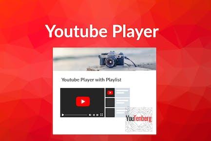 Youtenberg - Gutenberg YouTube Player with Playlis