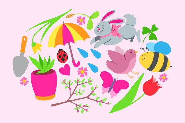 Thumbnail for Frühlingssymbole