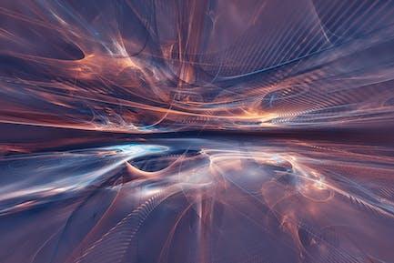 fractal landscape background