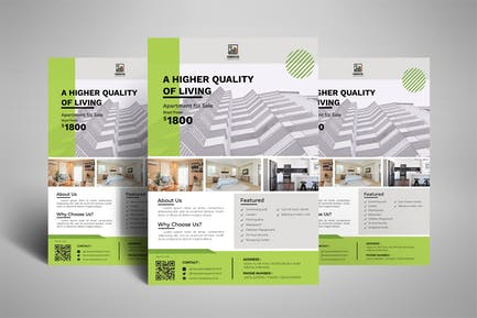 Apartment - Real Estate Investment Poster Flyer