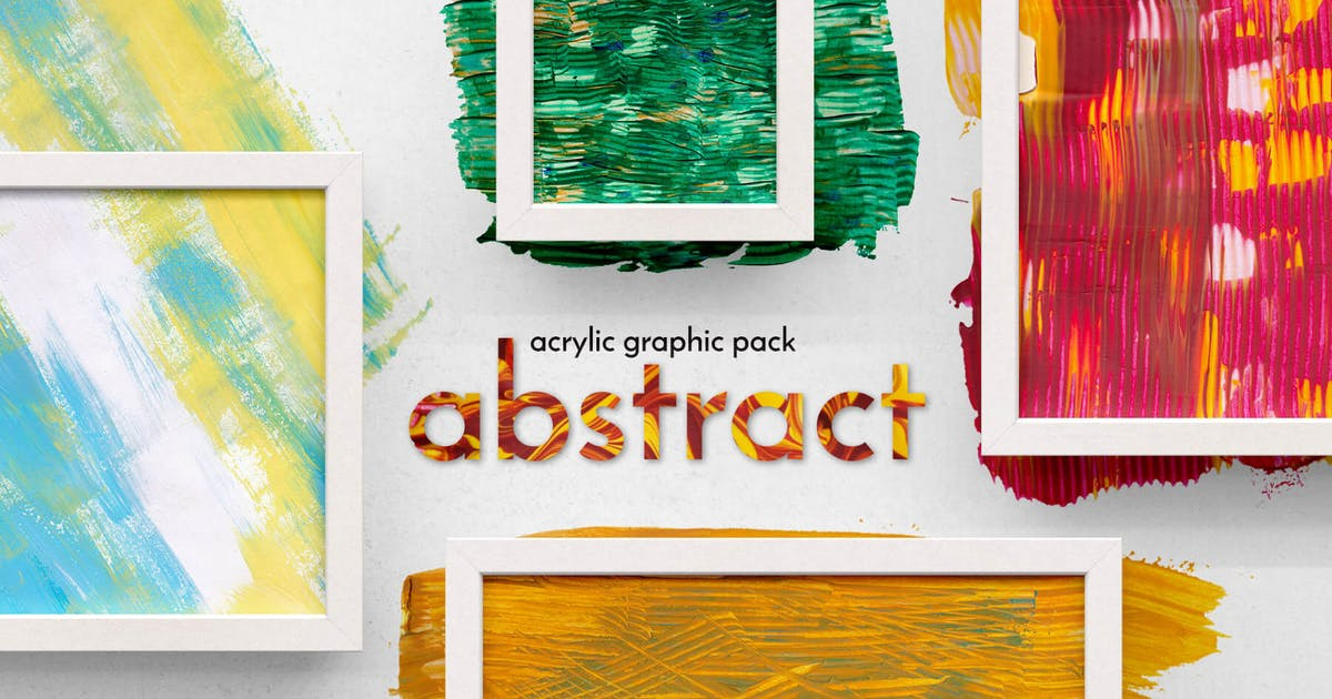 Download Abstract Acrylic Graphic Pack by Veila