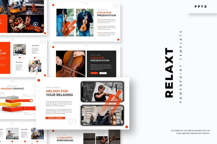 Relax - Powerpoint Template