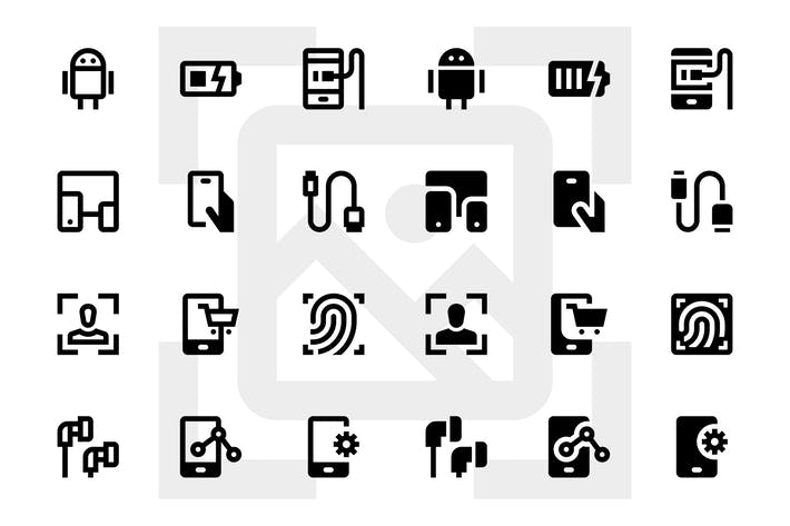 Cover Image For 100 Device Icons
