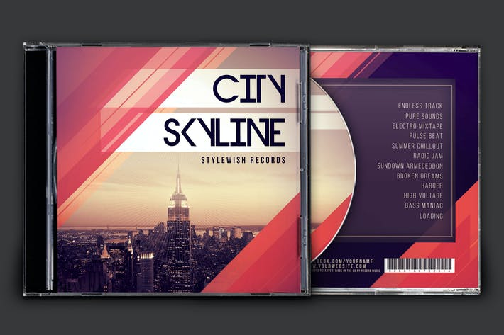 Thumbnail for City Skyline CD Cover Artwork