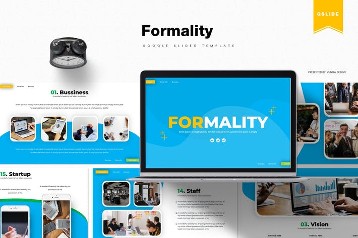 Formality | Google Slides Template