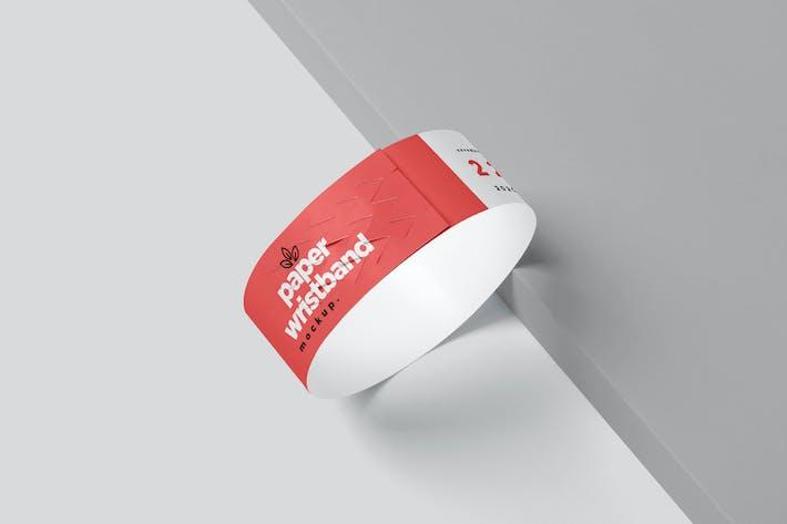 Thumbnail for Maquettes de bracelet en papier