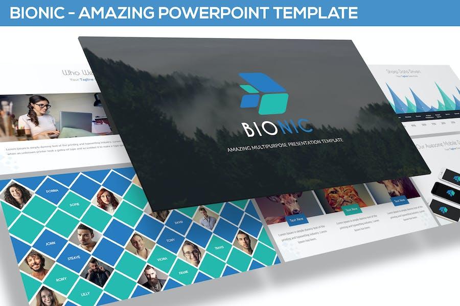 Bionic - Amazing Powerpoint Template