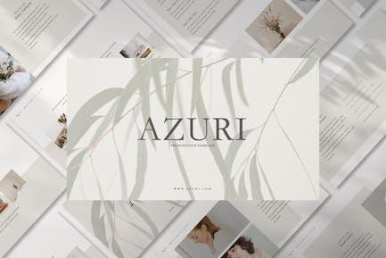 Azuri Analyze Shop Template