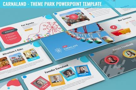 Carnaland - Шаблон Тема парка Powerpoint