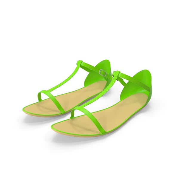 Weibliche Sandalen