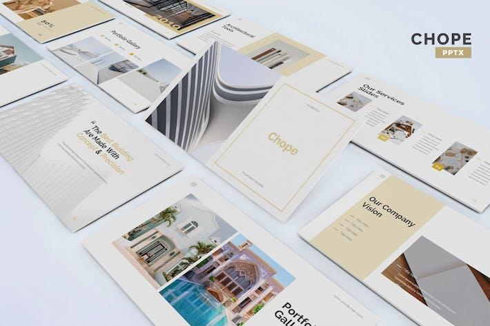Thumbnail for Chope - Architektur-Powerpoint-Vorlage