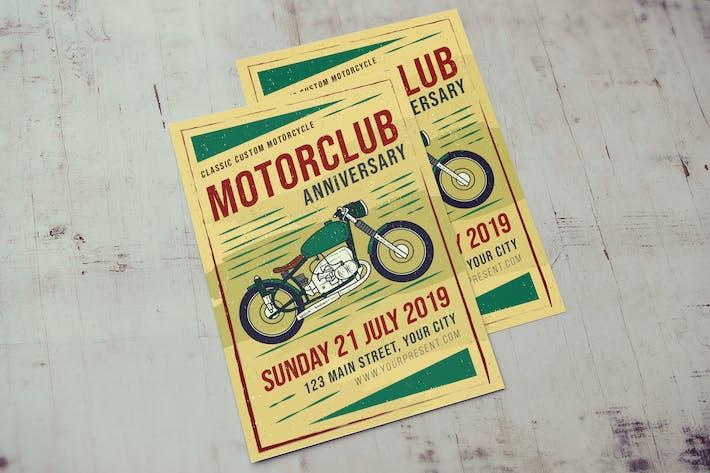 Thumbnail for Classic Motorclub Flyer