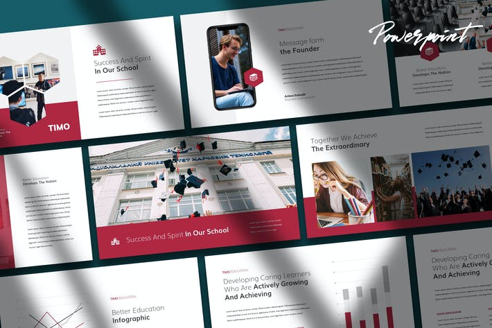 Timo - Education Theme Powerpoint