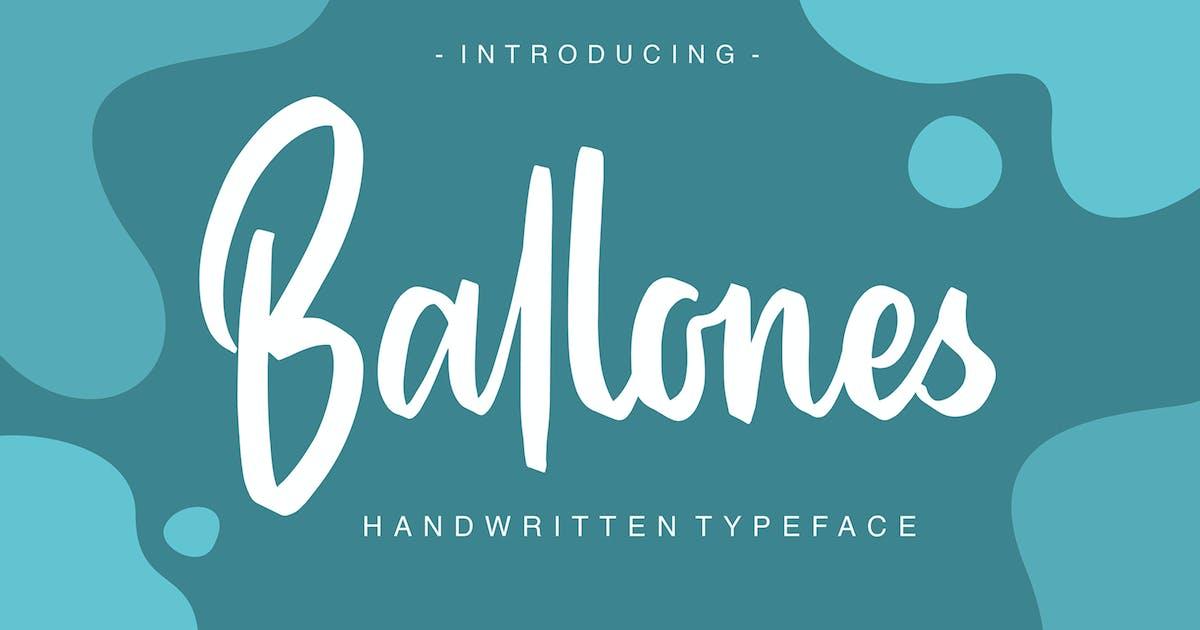 Download Ballones - Script by graptailtype