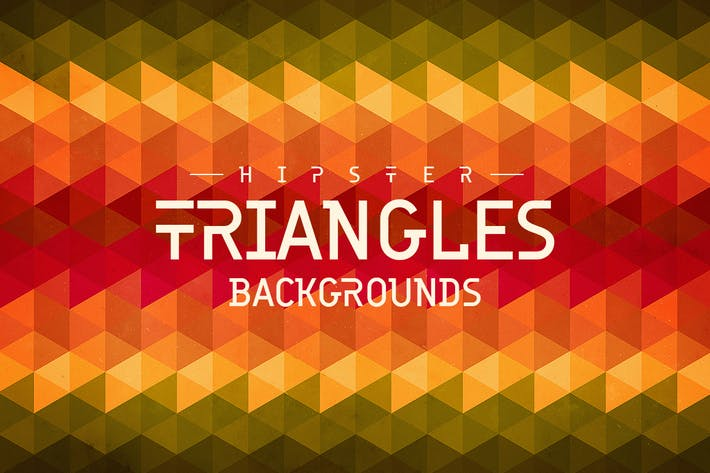 Cover Image For Hipster Triangles Backgrounds