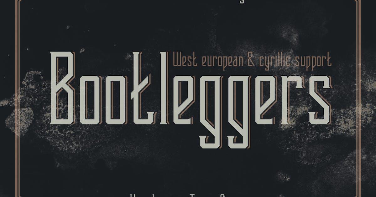 Download Bootleggers font by Gleb_Guralnyk