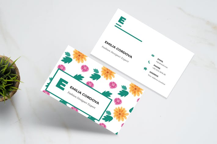 Thumbnail for Flora Business Card