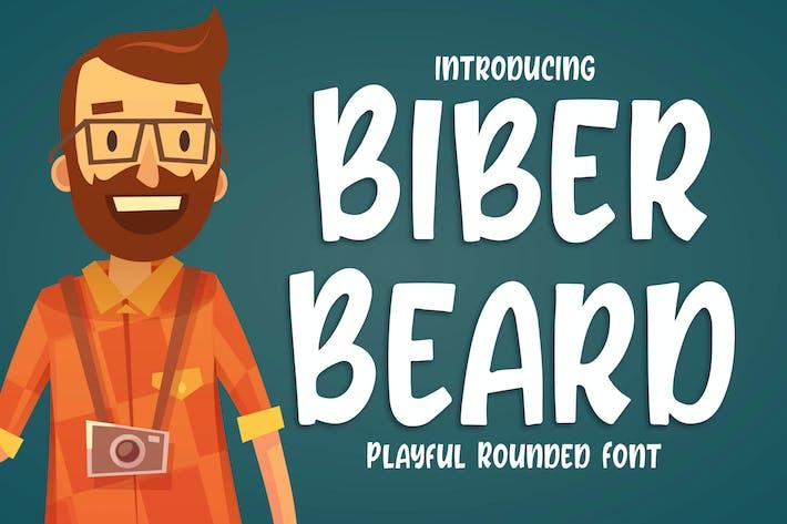Thumbnail for Biber Beard - Letra redondeada juguetona
