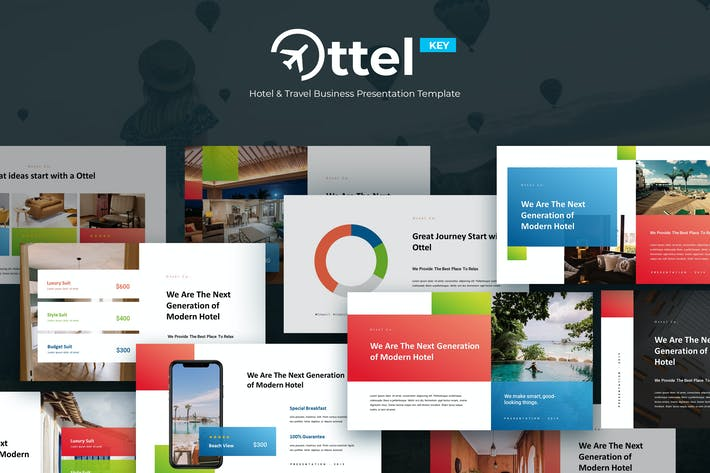 Cover Image For OTTEL - Travel & Hospitality Keynote Template
