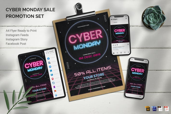 Cyber Monday - Promotion Set