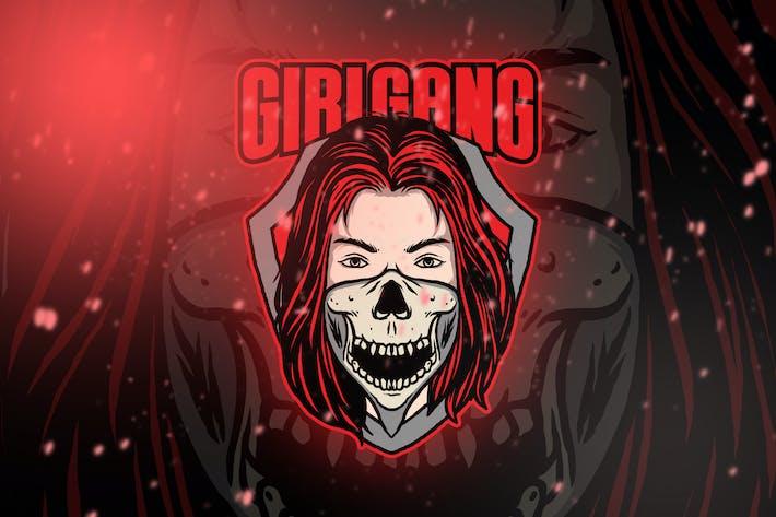 Thumbnail for Girl Game Esport Logo Vol. 2
