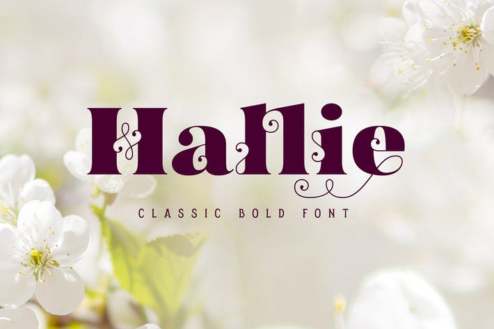 Thumbnail for Hallie - Bold Classic Font