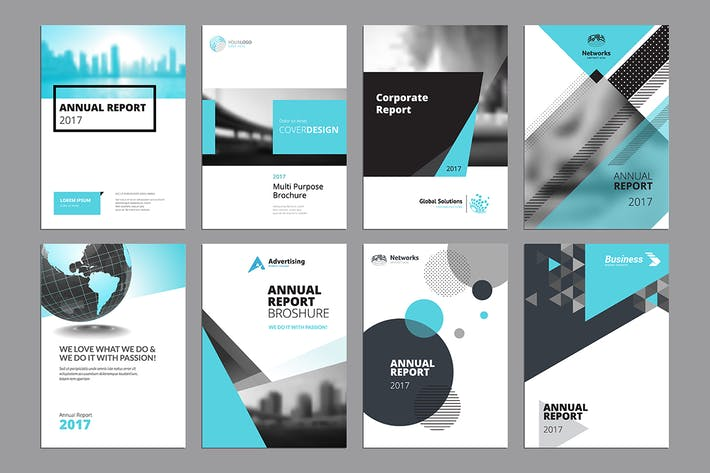 Cover Image For Brochure, annual report, flyer design templates