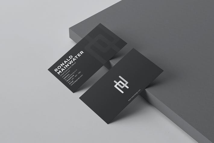Thumbnail for Professional business card vol.4