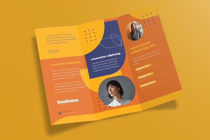 Thumbnail for Dreifache Unternehmens- broschüre