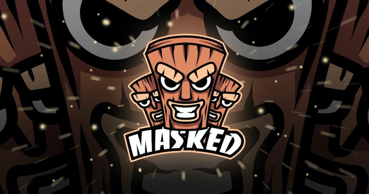 Download MASKED - Mascot & Esport Logo by aqrstudio