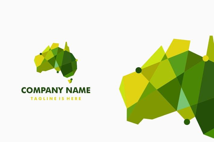Thumbnail for Australia Tech Connection Low Poly Logo