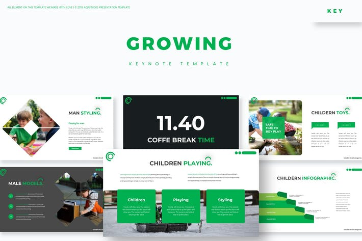 Thumbnail for Growing - Keynote Template