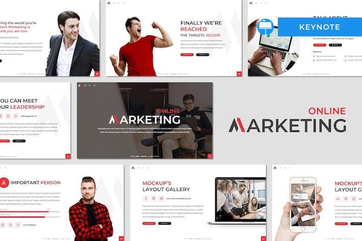 Thumbnail for Marketing - Vorlage für UnternehmenskKeynote