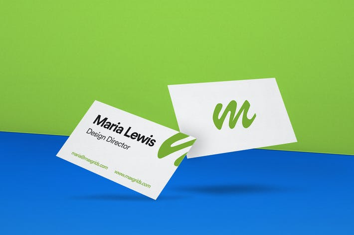 Thumbnail for Business Card Mockup 03