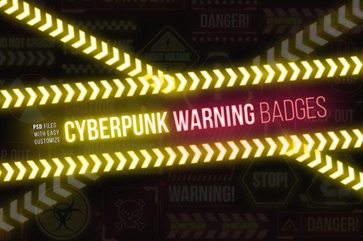 Thumbnail for Cyberpunk-Warnzeichen